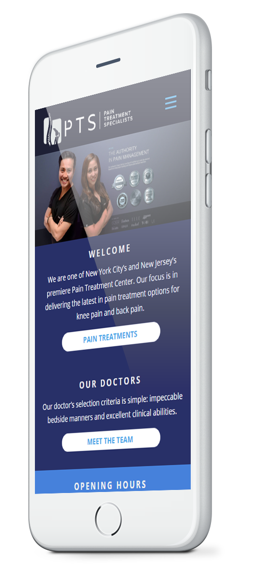 Premium solutions for healt clinics - Responsive Design - Studio Seven Agency